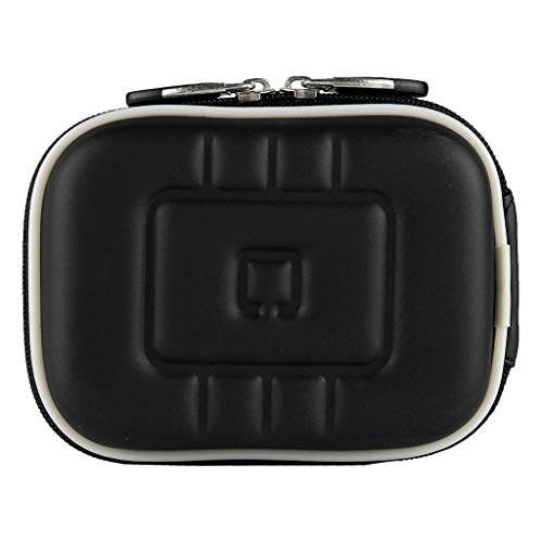 Hard Shell EVA Cover Camera Case Fit FUJIFILM FinePix XP130, XP120, GoPro Hero 7, YI Action Camera, Mokacam 4K, Moka 360, Alpha 4K Plus, APEMAN Trawo A100 Black