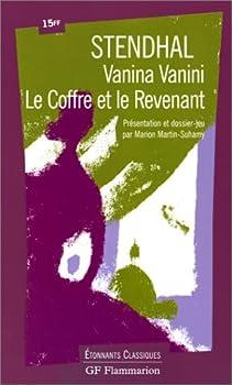 Vanina Vanini, Le Coffre et le Revenant 2080720449 Book Cover