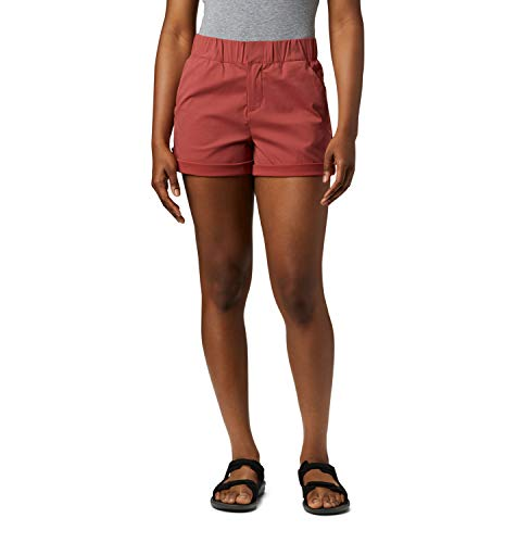 Columbia Damen Wandershorts Firwood Camp II, Rot (Dusty Crimson), 638/S20
