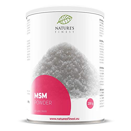 Nature's Finest Pure MSM Powder Free from Any Additives I Beauty Mineral I Home Made Cosmetic with Detox Effect