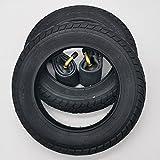 2x Mitas V41 Walrus 10 Zoll Reifen 10x1.75x2 Zoll   47-152 + 90° AV Schlauch (abgewinkeltes Ventil) Kinderwagen, Buggy, Roller, Dreirad