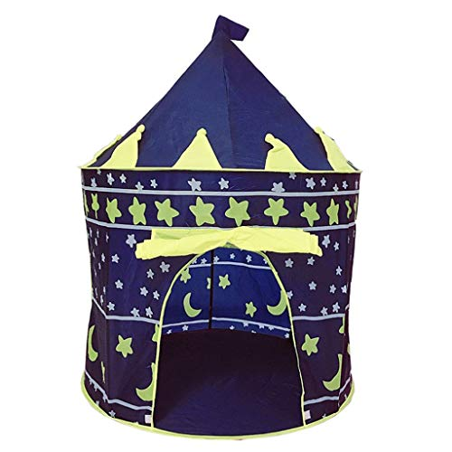 Tents Cartoon mongolisches Zelt, Multifunktionskinder Zelt-Spiel-Zelt for Boys & Girls Spielzeug-Zelt for Kinder Indoor Spielhaus (Color : B, Size : 105 * 105 * 135CM)