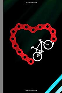 Heart Bike Chain: Fitness Biking Gift For Cyclists (6
