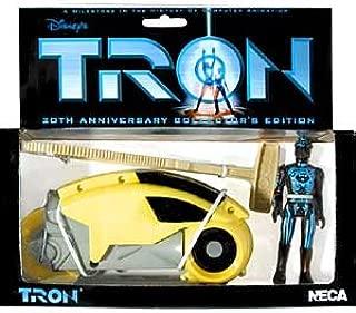 Tron > Yellow Lightcycle with Figure Vehicle
