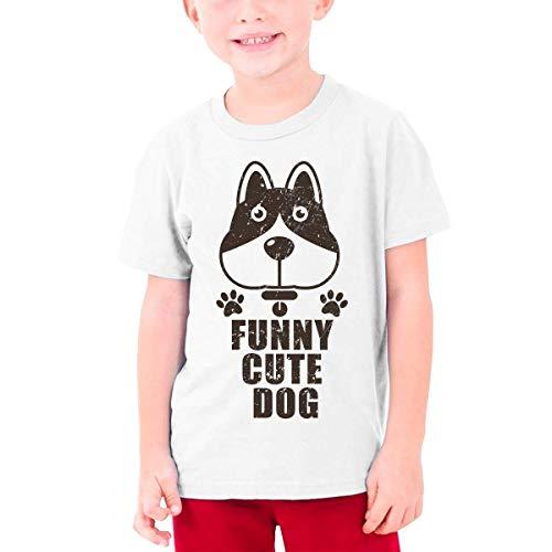 Teenage T-Shirt Funny Animals Videos, Kids Teen Short Causal Sleeves Tee Children White,White,X-Large