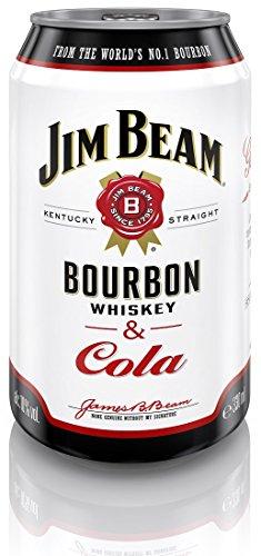 Jim Beam Cola Bourbon Whiskey EINWEG (1 x 0.33 l)