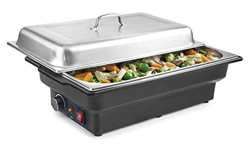 Lacor 69336 Chafing Dish eléctrico, 900 W, 8'50 litros, Ace