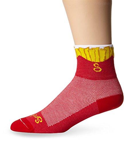 Sock Guy Fries Calzini di Crew   L/XL