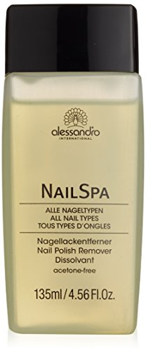 alessandro NailSpa Nagellackentferner Lotus, 135 ml, 1er Pack (1 x 135 ml)