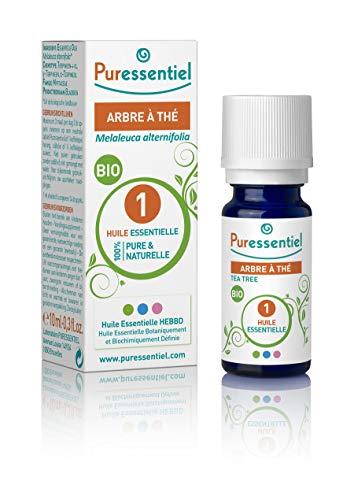 Puressentiel - Huile Essentielle Arbre à Thé - Bio - 100% pure et naturelle - HEBBD - 10...