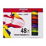 Amsterdam General Selection - Set de acrílico (48 x 20 ml)