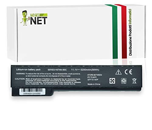 New Net Batteria Compatibile con HP 628666-001 628668-001 EliteBook 8460P 8470P 8570P 8560P 8460W ProBook 6560B 6460B 6475B 6570B 6470B 6465B 631243-001 634087-001 634089-001 CC06XL 5200mAh