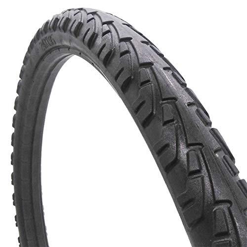 NANANA Schwarz MTB Reifen 26×1,95 Zoll, 26 Zoll Fahrrad Reifen MTB Mountain City Bike Tire, Vollgummireifen, Schwarz