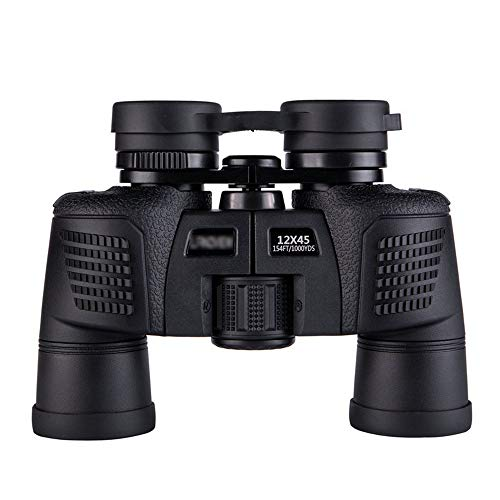 Verrekijker, verrekijker 12 x 45 HD voor concert theater opers, ooglifting bril, hoogwaardig prism zwart compact formaat en laag gewicht