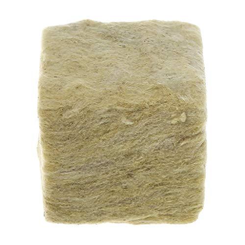 KunmniZ 1 Stück Steinwolle-Anzuchtwürfel Hydrokultur-Wachstumsmedien bodenlose Anzucht Pflanzung