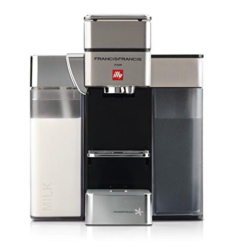 Francis Francis for Illy Y5Milk espresso and Coffee Machine, satin