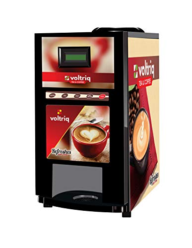 Voltriq DRINK SUCCESS Coffee Machine 4 Lane | Fully Automatic Tea & Coffee Vending Machine | For Offices, Shops and Smart Homes | Make 2 Varieties Of Coffee Tea With Premix | No Milk Required