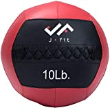 j/fit Medicine Ball, Red/Black, 10-Pound
