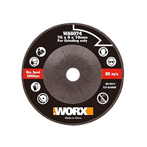 WORX WA6074 - Disco abrasivo per tritatutto WX801, 76 mm