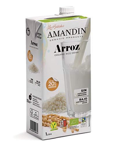AMANDÍN Bebida Ecológica de Arroz 20% 6 x 1L