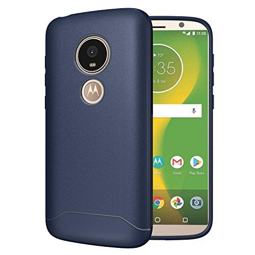 TUDIA [Arch S TPU Schutzhülle Motorola Moto E5 Play Ultra Slim Hülle (Blau)