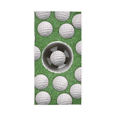 XiangHeFu presenteren multifunctionele badhanddoek handwashandjes sport golfbal zeer absorberend ultra zacht