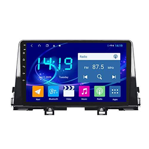 Dscam Car Stereo Android 9.1 Cuatro núcleos Coche Autoradio GPS Navegación para Kia Picanto 2016-2019 | 9 Pulgada | Pantalla LCD Táctil | USB | WLAN | 4.0 Bluetooth