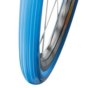 """Neumático para rodillos de entrenamiento Tacx T1397 - Cubierta, Unisex, Azul, 28"""" x 1,25"""""""
