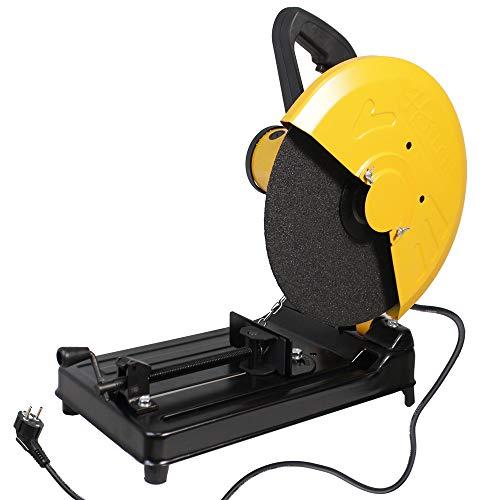 Vetrineinrete Troncatrice per ferro metallo 1800 watt segatrice tronchese tagliaferro sega per lamiere per disco 355 mm 4000 giri m P805102