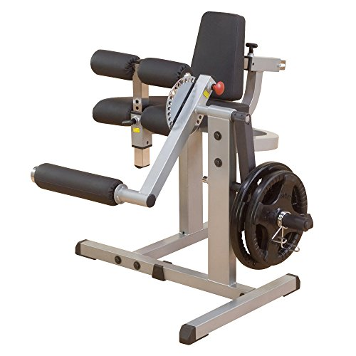 body-solid macchina 2 in 1 leg extension/ leg curl gcec340