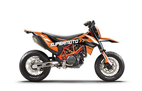 ARider Dekor für KTM 690 SMC-R 2019-2021 Supermoto Edition (Schwarz)