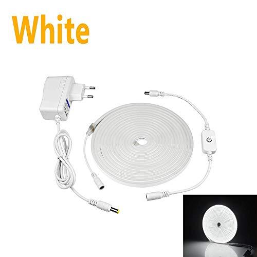 LED neon wandlamp voor binnenverlichting keuken - EU_Plug_White_4m