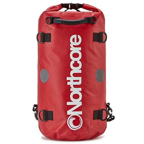 Northcore Dry Bag - Mochila 40L, color rojo