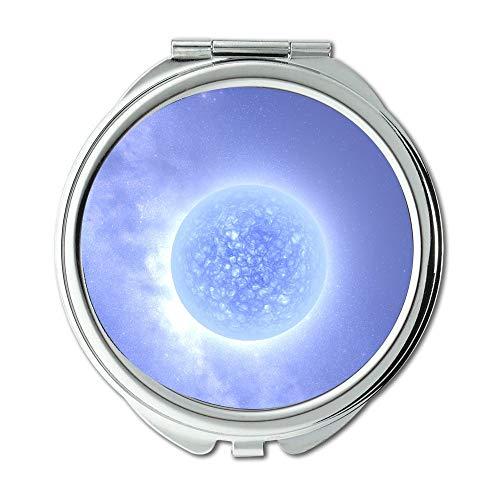 Yanteng Spiegel, Maus Weg konzentrieren träumen Erde, schützen die Erde 005 Schminkspiegel, Taschenspiegel, tragbarer Spiegel