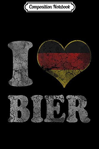 Composition Notebook: Oktoberfest Beer German Bier Germany  Journal/Notebook Blank Lined Ruled 6x9 100 Pages