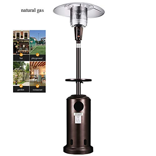 Best Deals! QNQ LTABC Outdoor Heater Gas Patio Heater Power Heater with 360° Heating Energy SavingS...