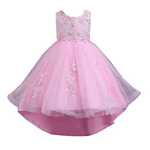 Moneycom Tenues Ete Jumpsuit Jupe Anniversaire Tulle Chic Ceremonie Mariage Enfants Bebe Filles sans Manches Papillon Imprimer Partie Robe de Princesse v/êtements