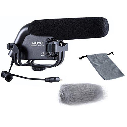 Movo VXR4000-PRO Shotgun Video Condenser