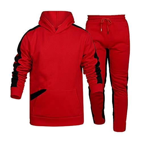 N\P Hombre Gran Primavera y Otoño Invierno Suéter Traje Hombre Correr Deportes Ocio Suéter Con Capucha
