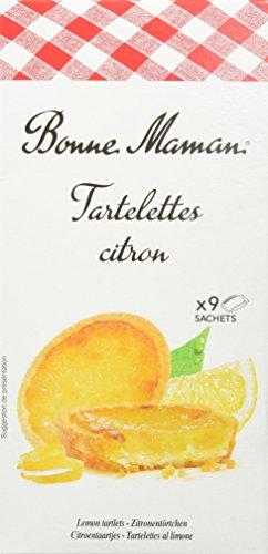 Bonne Maman Tartelettes citron – 125 g – Mürbeteig-Törtchen gefüllt mit Zitronenkonfitüre