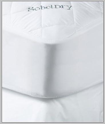 Premium Hotel & Resort Mattress Protector - Sobeldry Mattress Pad that is Both Quiet & Waterproof