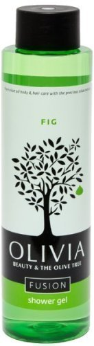 Olivia Papoutsanis Fusion Shower Gel with Fig & Greek Olive Oil, 300ml