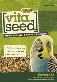Higgins Vita Seed Parakeet Food 5 Lb. Bag