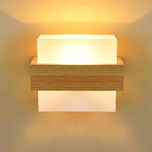Modernes Wandbeleuchtung Wandleuchten Vintage LoftWandlampen Antik Deko Design Wandbeleuchtung Landhausstil Nachttischlampe schlafzimmer wandleuchte holz wohnzimmer wandleuchte kreative flurleuchte,B