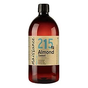 100 % natürliches, raffiniertes Mandelöl süß (Prunus Amygdalus Dulcis). Kann zur Massage, Aromatherapie, Hautpflege, Haarpflege, Gesichtsreinigung und als natürlicher Make-up-Entferner verwendet werden. (Siehe Produktbeschreibung für mehr Ideen zur V...