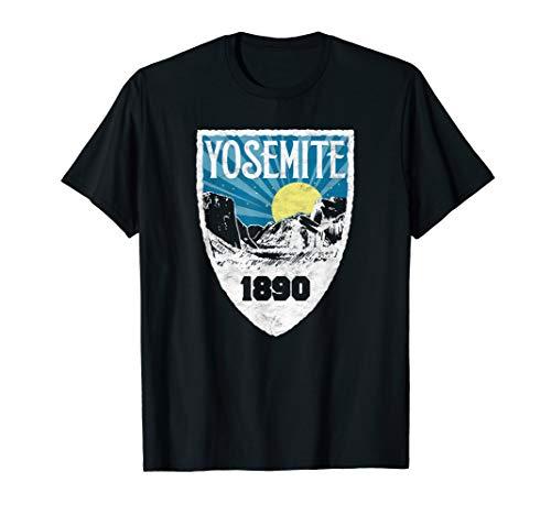 Yosemite Valley Moon & Stars Retro National Park Graphic T-Shirt