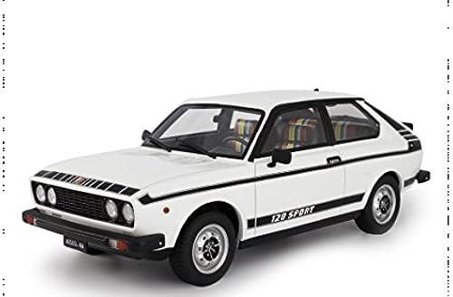 Laudoracing FIAT 128 Coupè 3P Sport 1975 Weiß 1 18 Modellauto exklusiv für Sammler