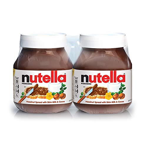 A Product of Nutella Hazelnut Spread Twin Pack (26.5 oz., 2 pk.)