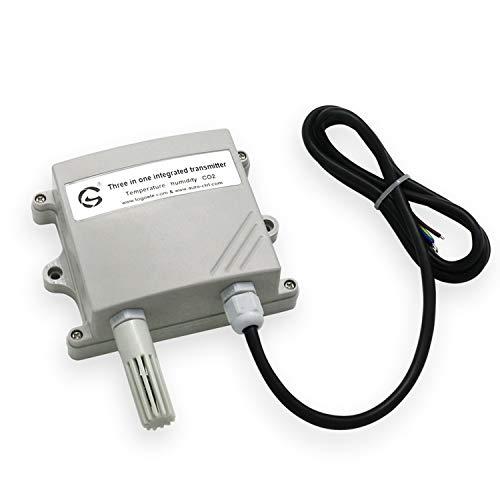 LTH-GD Sensor Actual RS485 Módulo de Sensor de CO2 3 en 1 Transmisor de CO2 Detector de dióxido de Carbono Sensor de Gas Salida 485 Corriendo