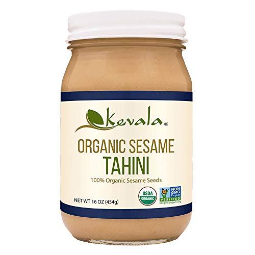 Organic tahini spread